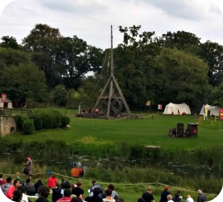 Warwick Castle Trebuchet Demonstration