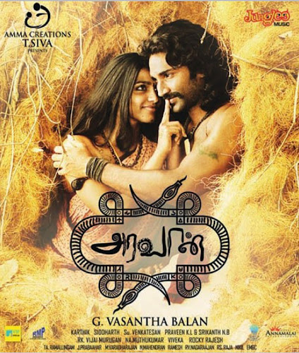 Poster Of Aravaan 2012 Hindi Dubbed 100MB HDRip HEVC Mobile Free Download