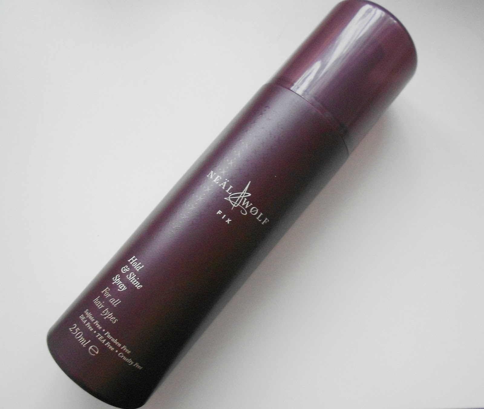 Fix neal and wolf hold and shine spray review