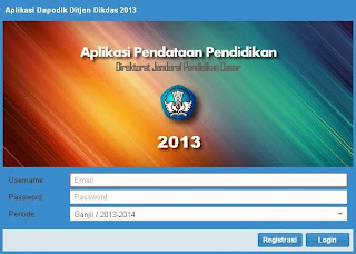 Aplikasi Installer Dapodikdas v 2.0 Tahun 2013 Sudah Diluncurkan