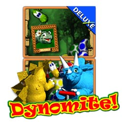 Game Dynomite Deluxe bắn trứng khủng long cho java