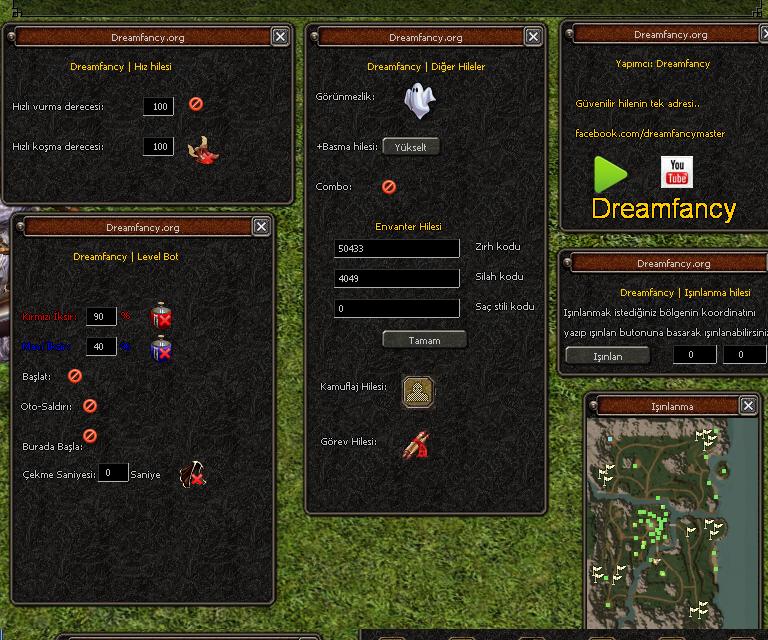 Metin2 Hile Dreamfancy Multihack v1.0 Oyun Botu indir