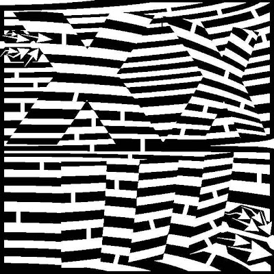maze of the prime number 23