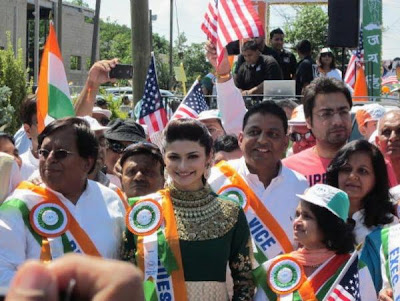 Prachi Desai at the New Jersey India Day parade