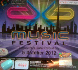 DXB Music Festival 2012