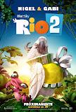 奇鸚嘉年華2 / 里約大冒險2 (Rio 2) poster