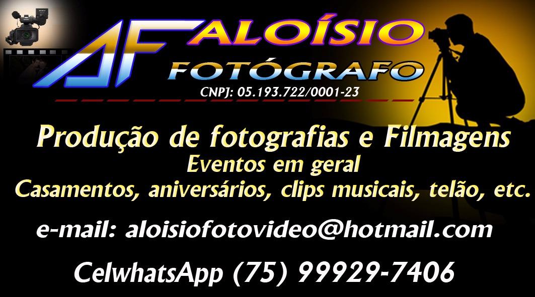ALOÍSIO FOTÓGRAFO
