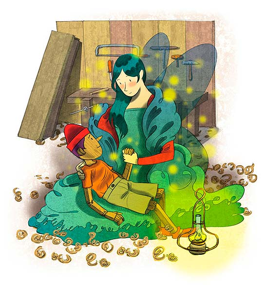 Ilustración de Andrezzinho