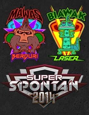 Live Streaming Tonton Online Download Super Spontan 2014