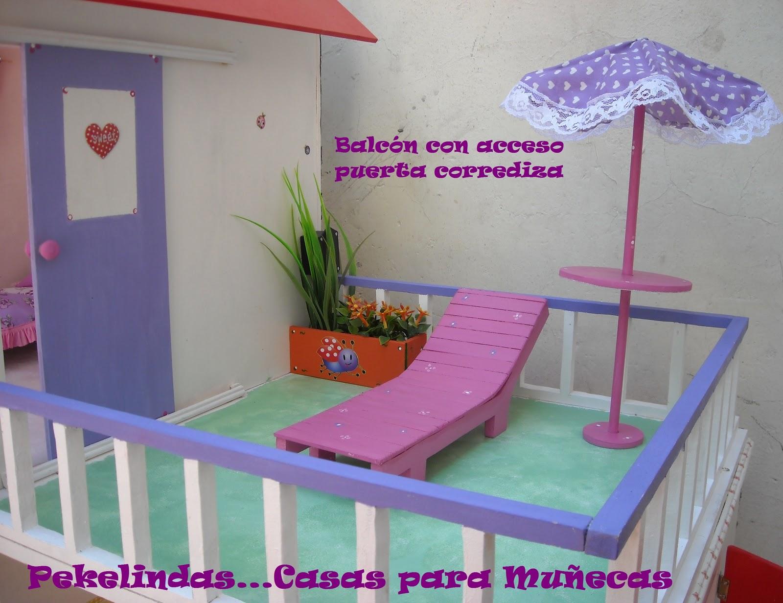 Casitas y Muebles para Muñecas - Casitas para mascotas: Modelo Mansión