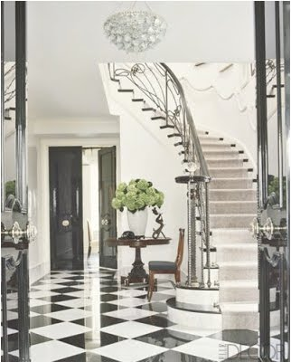 Decor - Love this checkered floor