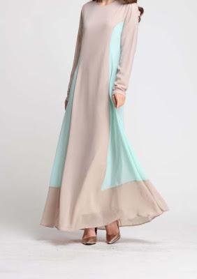 Jubah murah jubah cantik sale 2015 2016 chiffon borong dropship  baju cantik