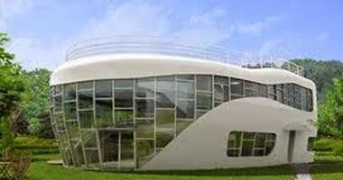 منازل عام 2050 بلا صناديق قمامة وذاتية التعقيم  - المستقبل - future home house