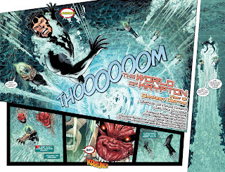 Comic frontline dc gives us more bang for our buck with another great 8 page back up story in this issue written by frank hannah with tom derenick on the art this time fandeluxe Choice Image