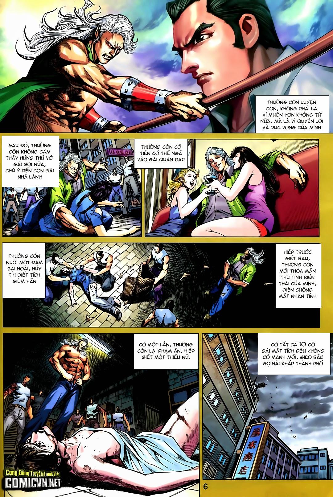Tân Tác Long Hổ Môn chap 730 - Trang 6