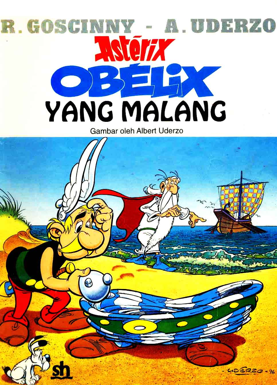 eBook Komik Bahasa Indonesia Asterix - Obelix Yang Malang