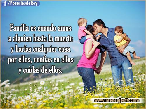 Imagenes con frases de familia - Mensajes Bonitos de Amor para ...