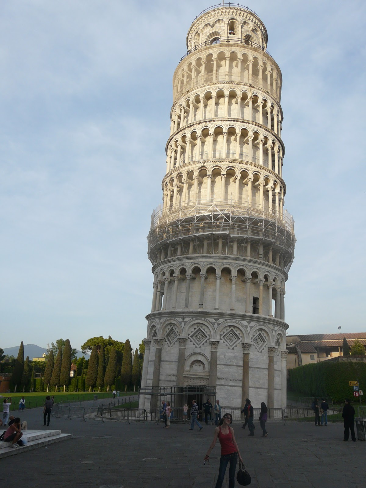 how to travel from pisa airport to pisa tower