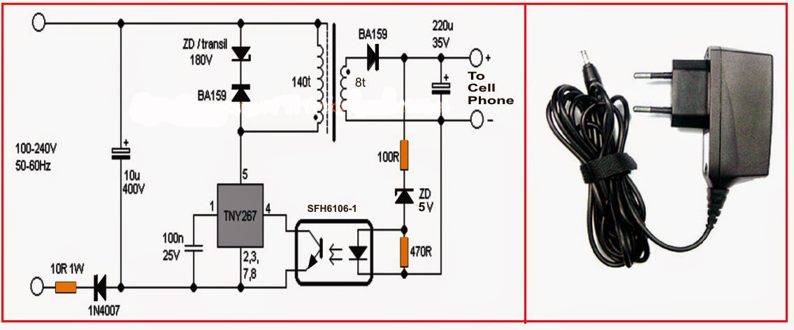 Electrical And Electronics Engineering  Simple Cell Phone
