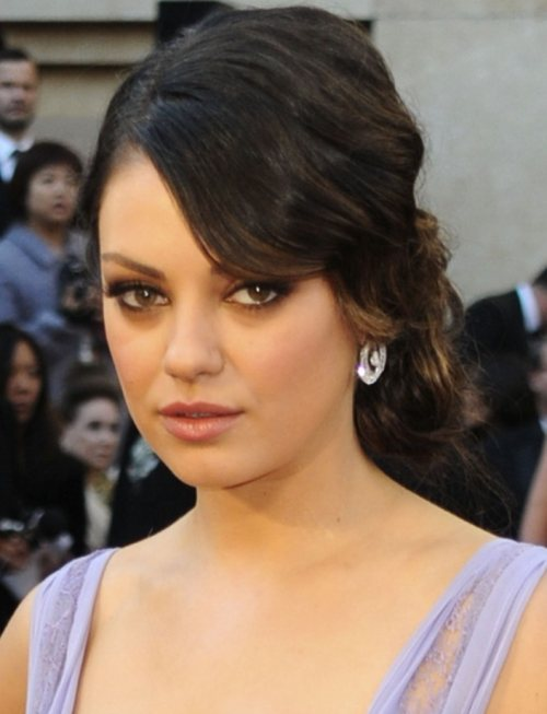 Miley hairstyles hair is our crown miley hairstyles funny picture clip celebrity mila kunis updo hairstyle pmusecretfo Image collections