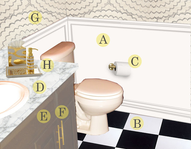 twineinteriors, elegant remodel, bath