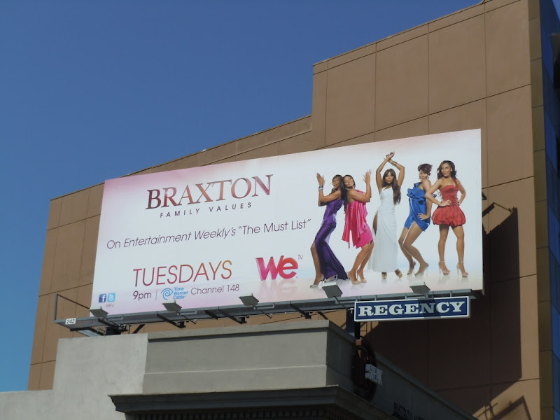 Braxton Family Values season 2 billboard