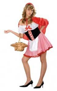como hacer un disfraz de caperucita roja en casa