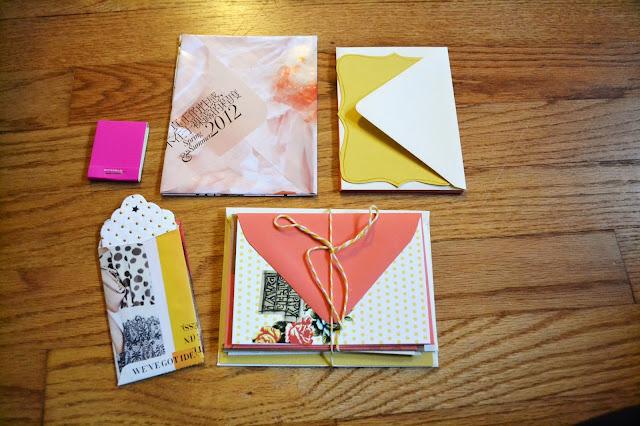 stationary, paper, envelopes, fleur d'elise, handmade