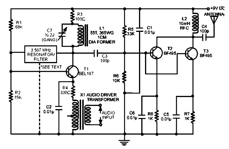 transmissores e receptores am  fm e oc  esquema