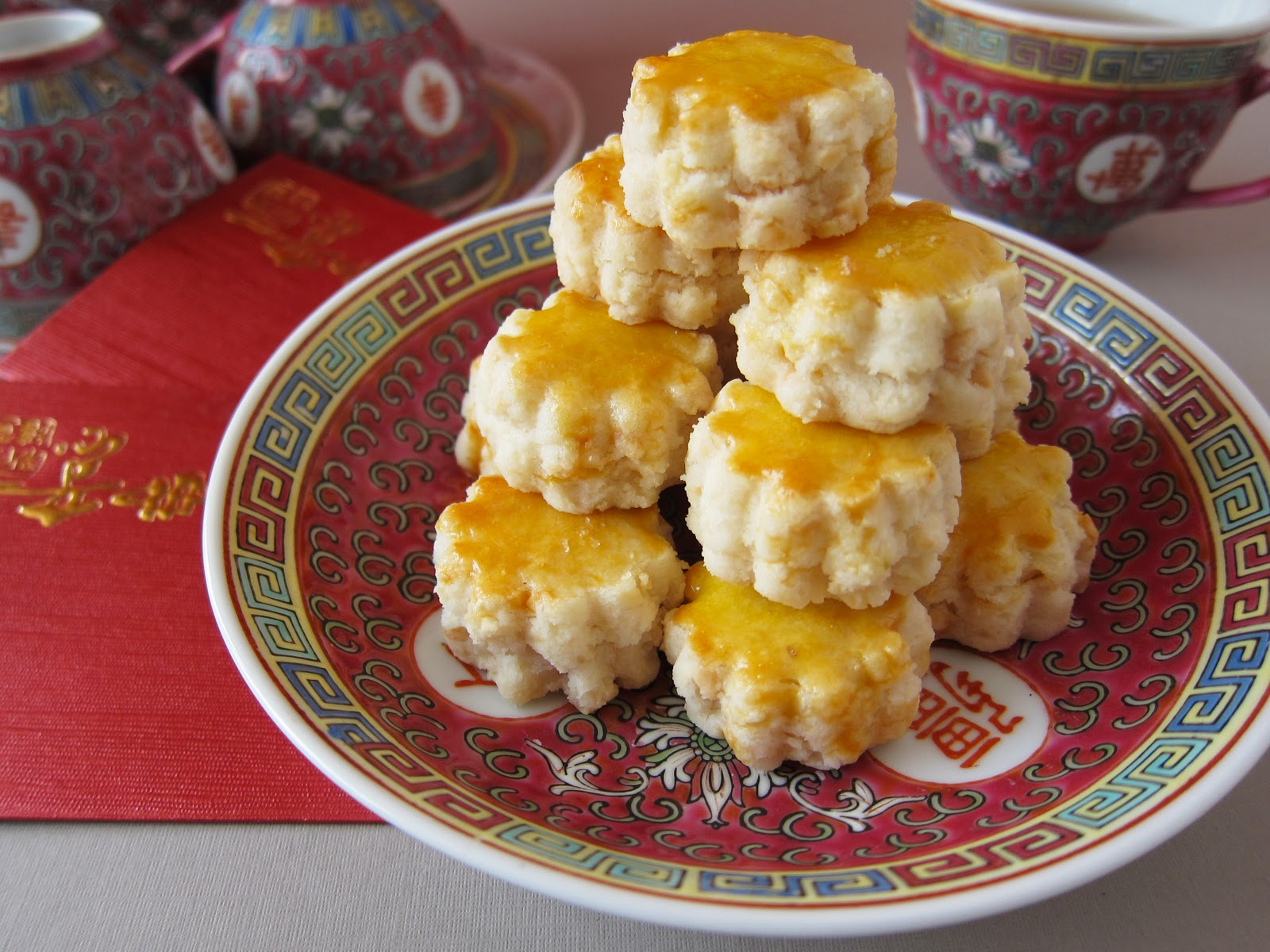 Foodmanna: Chinese New Year almond cookies