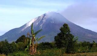 Gunung Sinabung Meletus Hari Ini