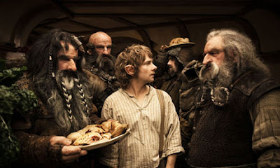 The Hobbit An Unexpected Journey Bilbo and dwarves
