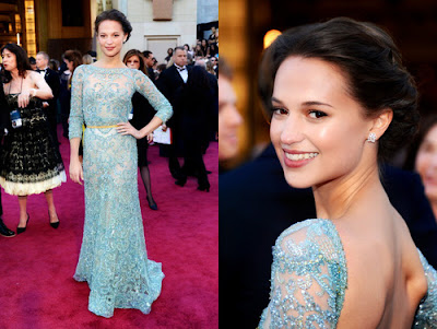 alicia vikander 2013 Academy Awards