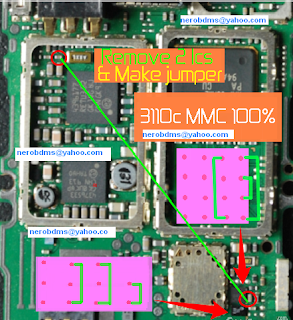 nokia 3110c mmc solution diagram