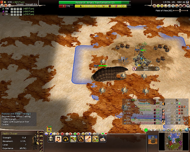 Civilization 4 Dune Wars - Ginaz Training Description