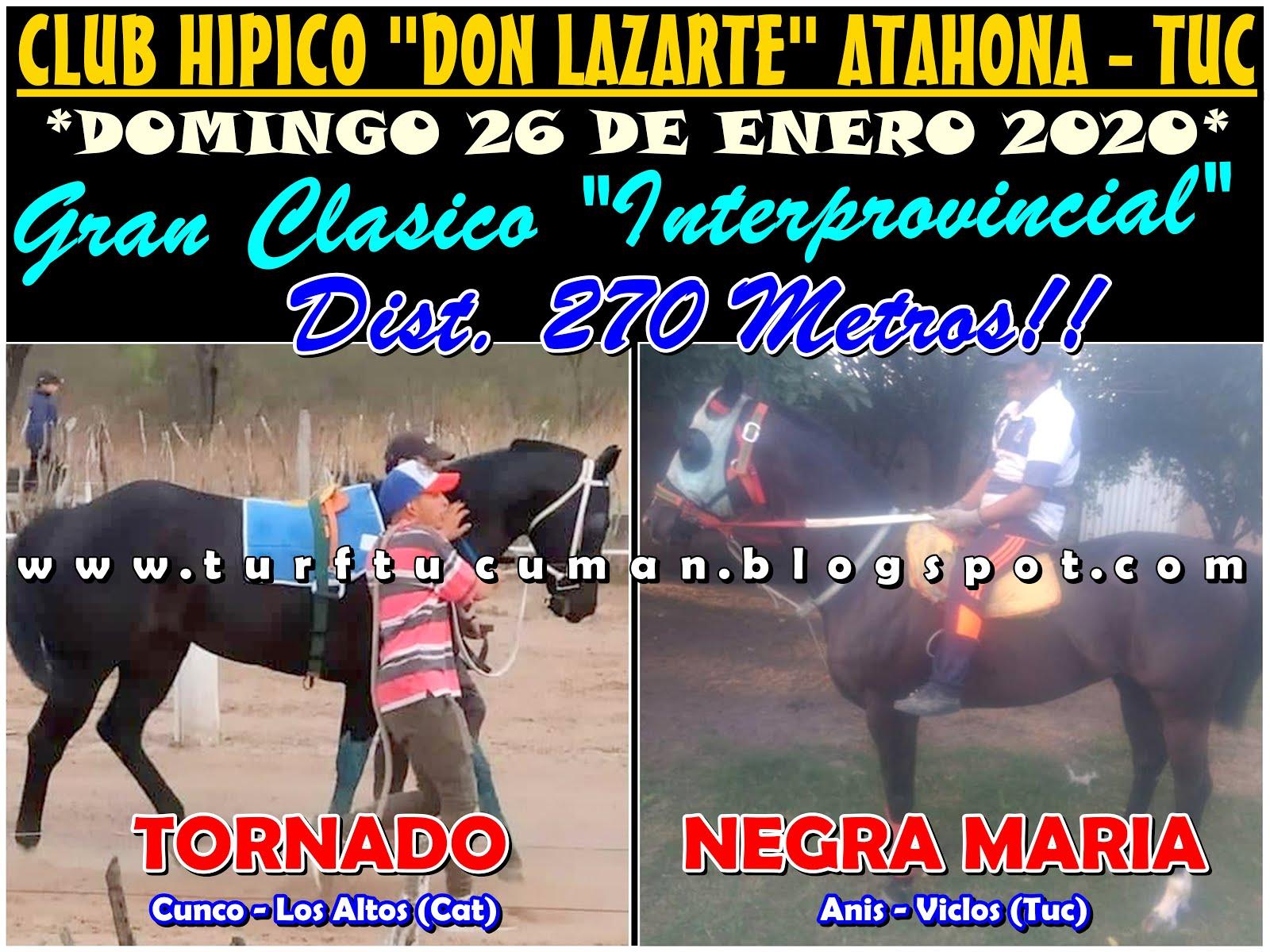 TORNADO VS NEGRA MARIA