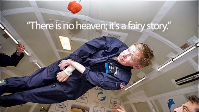 Stephen Hawking makes it clear: There is no God