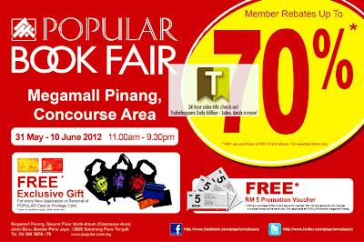 Popularbookstore Book Fair-Penang