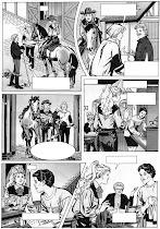 Página en blanco y negro procedente del original en color y sin textos. El moderno B/W*.-