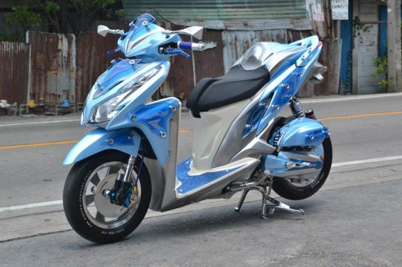 vario 125 pgm fi tahun 2012 gambar modifikasi honda vario 125 pgm fi title=