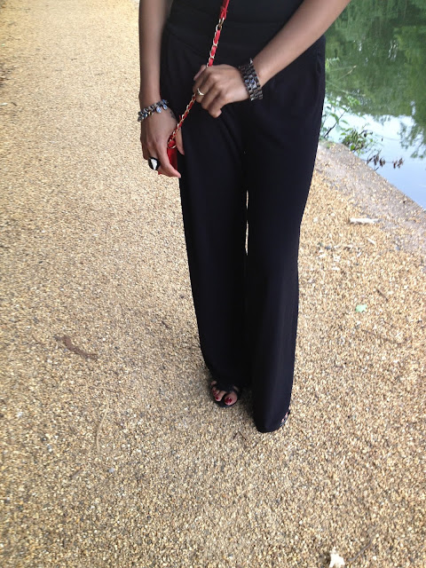 High Waisted Trousers from Primark and Shoes from HM