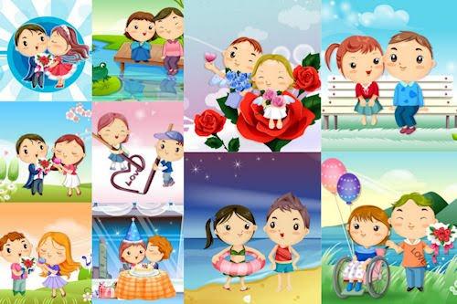 Dibujos de amor - Love Drawings (iPad y iPad2)