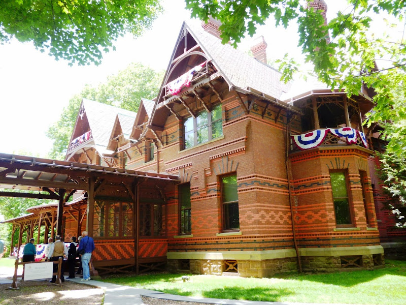 Mark Twain's House in Hartford, CT title=