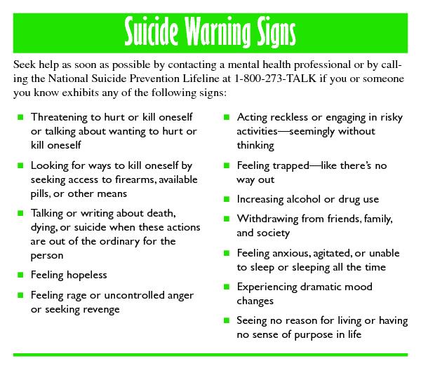 Food-Mood: Serotonin and Suicide
