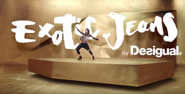 come si chiama ballerina desigual exotic jeans