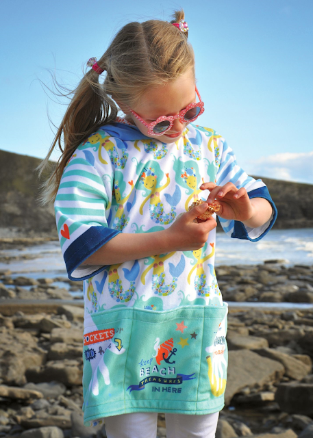 DIY Sewing Kids Beach Coverup