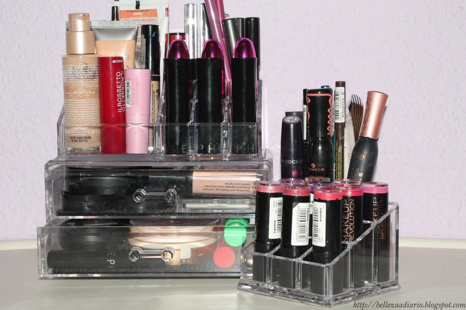 Belleza A Diario Y Otros Vicios Ideas Para Organizar El Maquillaje ~ Leroy Merlin Cajas Organizadoras