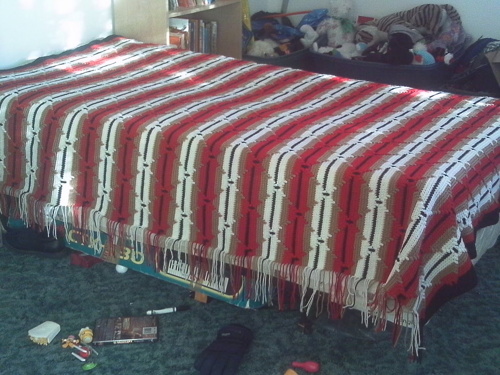 Timeless Creations: Navajo Afghan