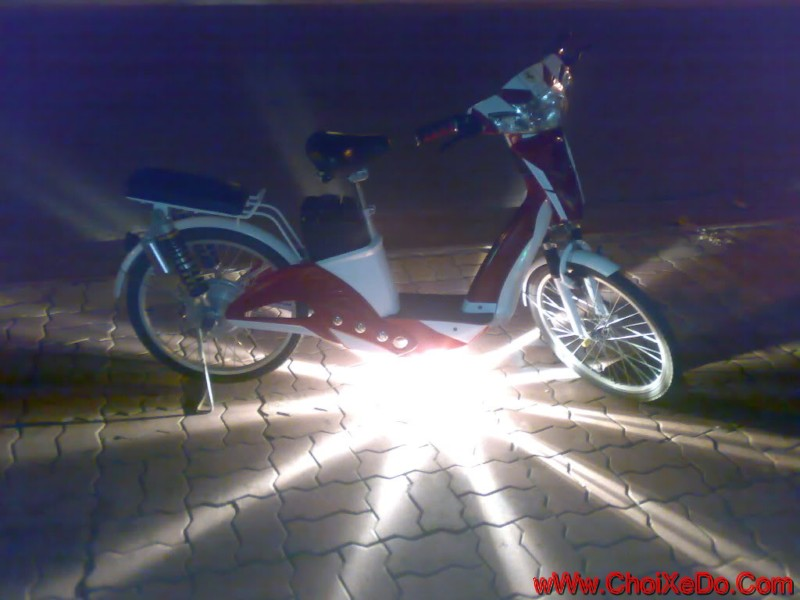 Xe đạp điện độ đẹp nhất 2015