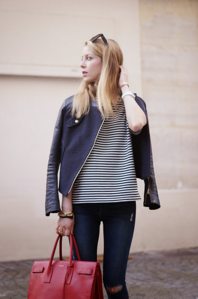 maje, chanel espadrilles, chanel, saint laurent, frame denim, cos, paris, streetstyle, fashion blogger, parisienne